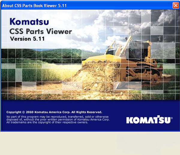 Komatsu EPC Linkone CSS Parts Viewer 5.11 [10.2019] Full